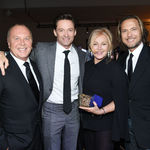 Michael kors hugh jackman deborra lee furness lance lepere